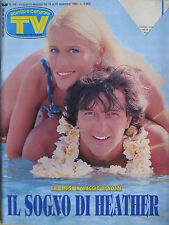 SORRISI 46 1993 Heather Parisi Francesco De Gregori Tom Cruise Gene Hackman