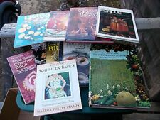 ~~ Lot Of 10 Vintage Cookbooks ~~ Christmas, Seafood, & So Much More ~~ LOOK>