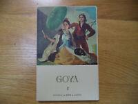 Vintage Lot Of 20 Goya Postcards Printed In Spain Editorial Fine Art Post Cards