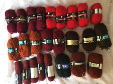 Vintage 25 pelotes de laine à tricoter Sofil Phildar Blenda Marigold