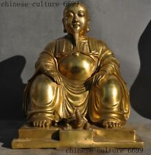 Chinese Buddhism brass copper Basaltic Emperor buddha Great basaltic statue