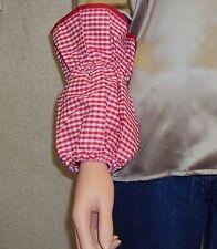 Sleeve Protectors, Baker Sleeves, Sleeve Covers, Clothing Protectors Red Gingham