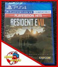 RESIDENT EVIL VII 7 (PS Hits) - gioco PS4 - ITALIANO - Nuovo - OFFERTA LIMITATA