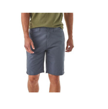 "NWT Patagonia Mens Lightweight All Wear Hemp Shorts BRAN DNEW BLUE 35"" ORGANIC"