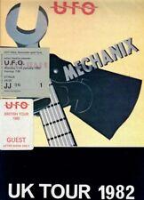 UFO (1982 TOUR PROGRAMME) SIGNED AUTOGRAPHS