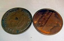Netherlands 5 Cent Pre-Euro  Coin Queen Beatrix Jualiana lot of Two 1998 1950
