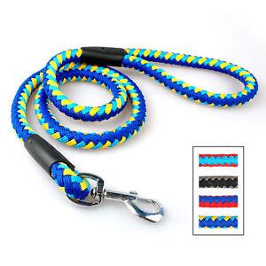 Braided Rope Dog Leash For Dog Pet  Walking Training Heavy Duty 4FT Dog Leads