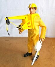 vintage palitoy ACTION MAN vam - RARE complete HIGH RESCUE emergency - 70/80's
