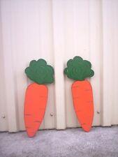 Easter Carrots Yard Art Decoration-2 pcs