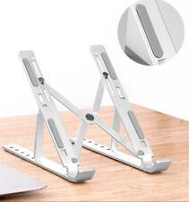 Portable Aluminum Folding Laptop Stand Adjustable Desktop Notebook Cooler Holder