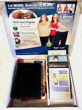 Michael Thurmond Six 6 Week Body Makeover Provida Weight Loss DVD CD Kit Fitness