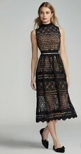 NWT $385 Free People x Ministry of Style Demure Cropped Midi Set Black Sz 2 US