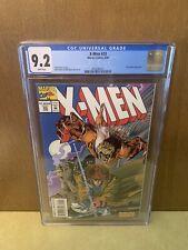 Xmen 33 CGC 9.2 🔥SABRETOOTH App🔥 GAMBIT On Cover Comic Book KEY Issue