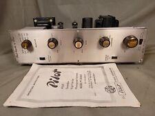Vintage Pilot Pt-1030D 6Bq5 Hifi Phono Mono Amplifier & Manual Clean & Working