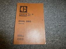 Caterpillar Cat Dual D9G Tractor Parts Catalog Manual S/N 90J93-Up & 91J93-Up