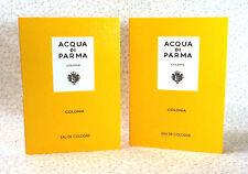 LOT OF (2) ACQUA DI PARMA COLONIA EDC SAMPLES - 0.05 oz.ea.