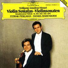Mozart: Violin Sonatas K. 301, 302, 303 & 304 Mozart, Perlman, Barenboim Audio