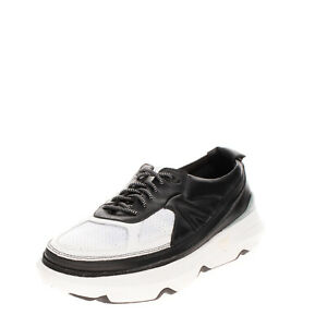 RRP €160 ACBC Leather Sneakers EU43 UK8.5 US9.5 Zip Detachable Upper Thick Sole