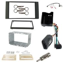 Ford Fiesta Facelift Mk6.5 Double Din Stereo Fitting Facia Stalk Adaptor Kit
