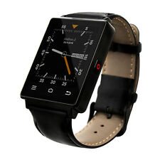 Black NO.1 D6 WIFI GPS Smartwatch 3G Android 5.1 Google Play Smart Watch Phone