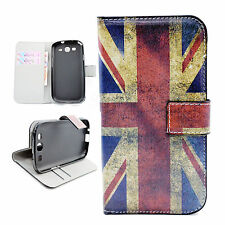 Flip Phone Leather Wallet Slots Card Cover Case For Samsung Galaxy S3 III i9300