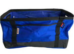 Costco Polyester Blue Collapsible Tote Bag Box Bin