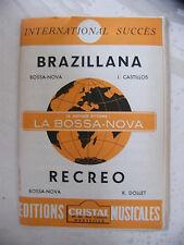 Partition Brazillana Castillos Recreo R Dollet Bossa Nova