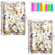2 Pack 6 Ring Kawaii Soft Pvc Binder Cover A5 Notebook Binder Planner Covers