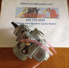 32mm Mikuni Carb Round Slide RIGHT Idle Vintage Motocross Dirt Bike / ATV  NEW!