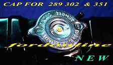 FORD FALCON RADIATOR CAP (cap only) XR XT XW XY GT suit 289 302 & 351 NEW