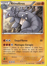 Rhinoféros - XY - 61/146 - Carte Pokemon Neuve - Française