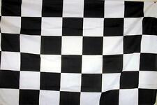 BLACK AND WHITE RACING CHECKERED RACE 3X5 FLAGS flag car banners 3 X 5 BANNER