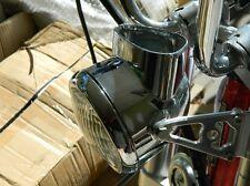 HONDA ct70 headlight bket chromed headlight 6v and chromed ring KO trail 69-71