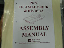 1969 69 BUICK FULLSIZE & RIVIERA (ALL MODELS) ASSEMBLY MANUAL