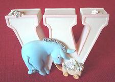 Winnie The Pooh & Eyore Alphabet Letter W, Disney Classic Mountable,3-D,AA Milne