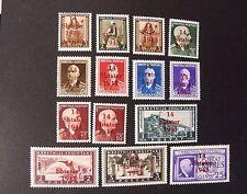 "GERMANIA,GERMANY, REICH 1943 Albanien ""Fr. di ALBANIA SVR""  14 V.Cpl SET MNH**"