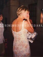 Princess Diana in NYC, ORIGINAL photo-June 1997 (2mos before death)- free shipng