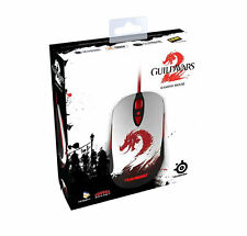 SteelSeries Guild Wars 2 Gaming Mouse, GW2 GW  5700 DPI USB WIRED 62156 Red LED