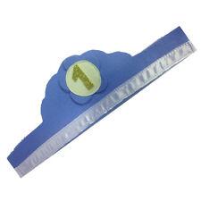 1 JAHR kränzchen himmelblau da bambino in filz mit zahl glitzer 10x60 cm