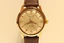 """VINTAGE RARE NICE MEN""""S SWISS GOLD PLATED AUTOMATIC WATCH""""REPCO WATCH"""" 21 J"""