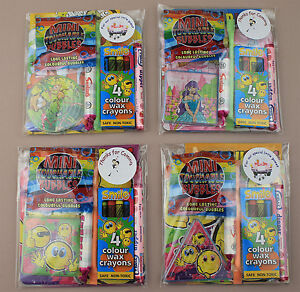 Childrens Personalised Wedding Activity Pack Favour Gift Party Bag / Kids Packs