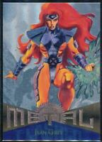 1995 Marvel Metal Silver Flasher Trading Card #97 Jean Grey