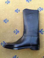 John Lobb Ltd Bespoke Mens Shoes Black Leather Boots UK 9.5 10 US 10.5 11 43+ 44