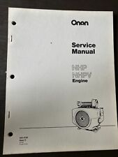 ONAN NHP NHPV Spec C Engine Service Manual Book Guide Overhaul Workshop Repair