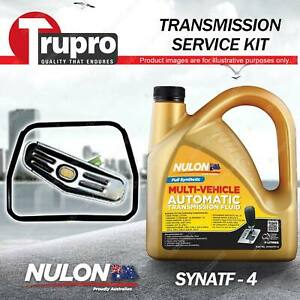 Nulon SYNATF Transmission Oil + Filter Service Kit for Renault 21 TXE 88-89