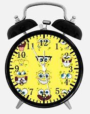 """SpongeBob SquarePants Alarm Desk Clock 3.75"""" Home or Office Decor Z58"""