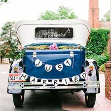 just married decorations, Konsait Just Married Car Window Decal Car Sticker Jus
