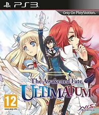 THE AWAKENED FATE ULTIMATUM PS3 BRAND NEW AND SEALED