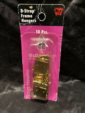 Bulldog Picture Frame Hangers  D-Strap  10PCS