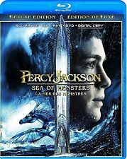 PERCY JACKSON: SEA OF MONSTERS * NEW BLU-RAY 3D/2D + DVD*